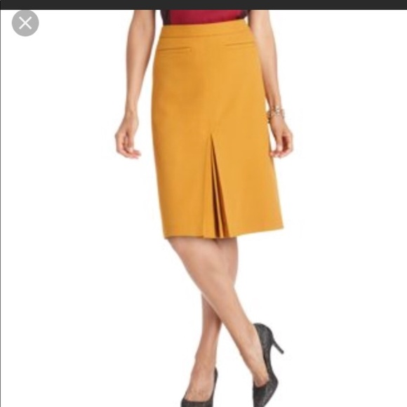 Women's Clothing Clothing, Shoes & Accessories Ann Taylor Skirt Sz 2 Mini Skirt Off White Cotton Kick Pleat Career Work Ll